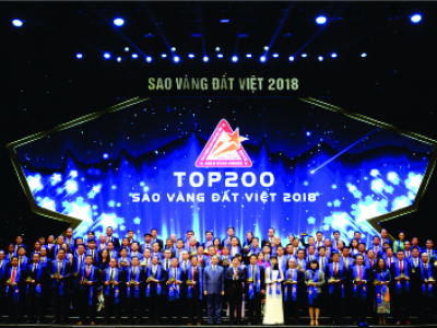 AN HUNG JOINT STOCK COMPANY THREE TIME TO RECEIVE THE VIETNAMESE GOLDEN STAR AWARD